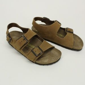 Birkenstock Milano Tan Sandals
